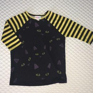 🐱 LuLaRoe Kids Halloween Cat Sloan size 4 🐱